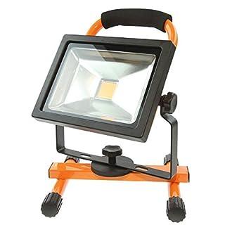 Sila Profi Work LED Arbeitsscheinwerfer Dimmbar - Akku Arbeitsleuchte 20W - 1800 Lumen - 4200K - inkl. Magnethalterung - Partylicht Werkstattlicht Baustrahler Handscheinwerfer