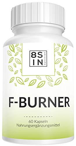 Abnehmen Fatburner | Hochdosierte Kapseln | Hergestellt in Deutschland | 8 Sin Nutrition