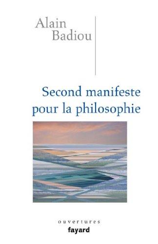 Second manifeste pour la philosophie A. Badiou