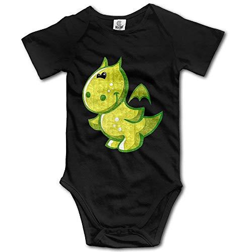 Gorgeous Socks Unisex Baby Onesies Custom Green Baby Dragon Short-Sleeve Bodysuit 100% Cotton Boys Girls 0-24 Months 24 Months