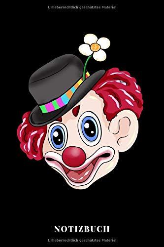 Karneval Clown - Notizbuch
