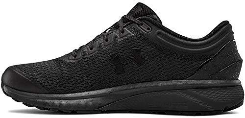 Under Armour UA Charged Escape 3, Zapatillas de Running para Hombre, Negro Black/Black/Black 002...