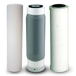 Rivestimenti/rivestimenti di ricambio 3-scomparto per filtro acqua per imparare a bere acqua Filtro SEDIBAKT per impianto Osmosi germe filtro batteri filtro da filtro a cartuccia filtro a cartuccia 25,4 cm