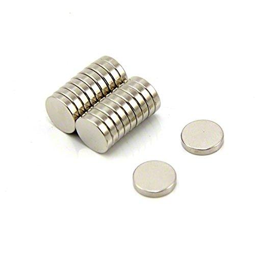 Therapie Flache Bänder (Magnetastico® | 40 Stück Neodym Magnete N52 Scheibe 10x2 mm | Kühlschrankmagnet Pinnwandmagnet Dauermagnet Whiteboardmagnet Haftmagnet Scheibenmagnet Magnetscheibe)