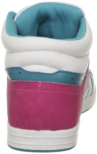 Victoria Sneaker Multicolor Pu, Chaussures montantes femmes Bleu (Aguamar)