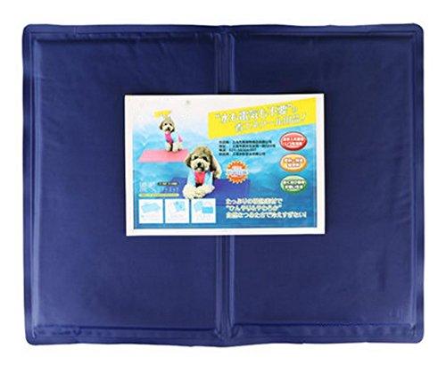 Hund Katze Eis Matte Bett, geben Sie einen kühlen Sommer, einfach zu reinigen, dauerhaft Komfortable resistent Kratzer und Biss , 60*50