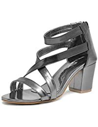 0cc44b3d89f8 Silver Women s Fashion Sandals  Buy Silver Women s Fashion Sandals ...