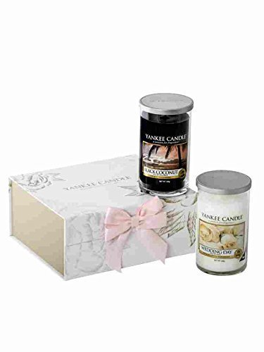 Yankee Candle Wedding Day 2 Medium Pillar Jar Gift Set