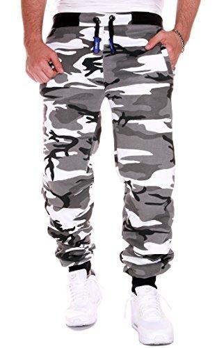 RMK Herren Hose Jogginghose Trainingshose Fitnesshose H.02 neu Camouflage Hell 4XL