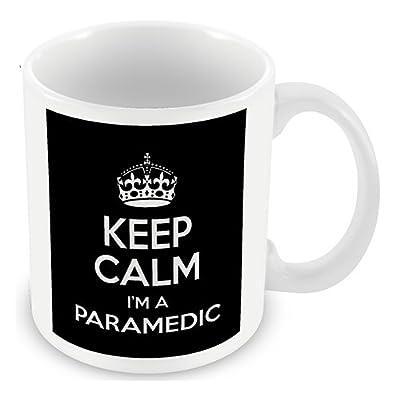Keep Calm I'm a Paramedic (Black) Mug