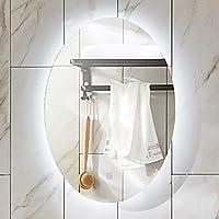 Amazon It Specchio Ovale Bagno Illuminazione