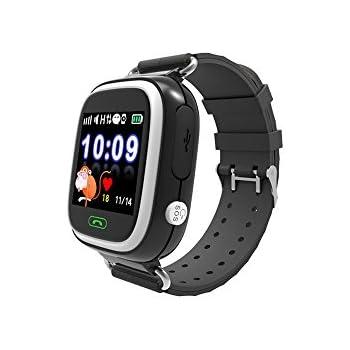 inkasus Montre Bluetooth Kid Safe traceur GPS pour enfant - Noire