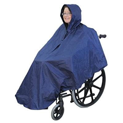 Wheelchair Poncho - inexpensive UK light shop.