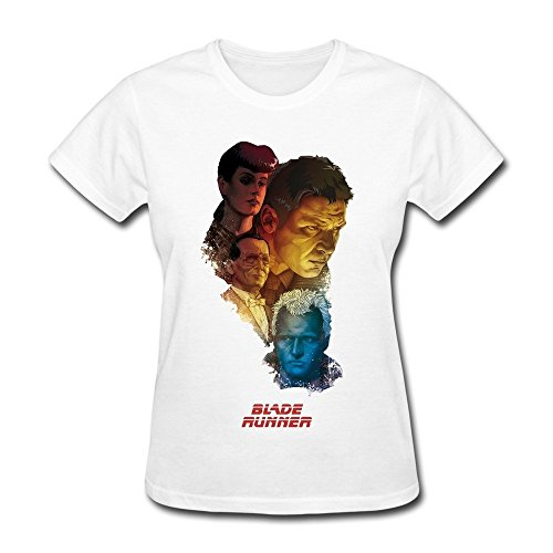 Damen's Movie Blade Runner Poster T-Shirt X-Large