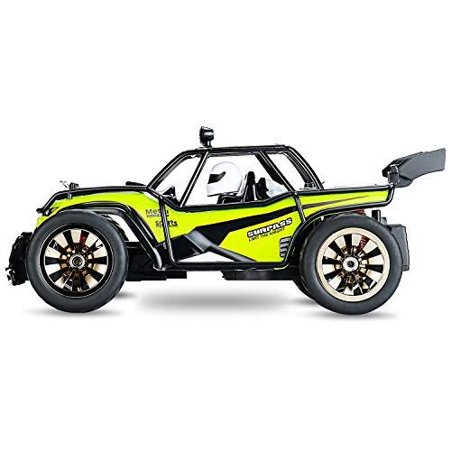RC Truggy kaufen Truggy Bild 1: Aandyou Ferngesteuertes Auto,1:16 RC Auto,2.4GHz Ferngesteuertes Monstertruck,High Speed RC-Auto mit 2 wiederaufladbaren Batterien*