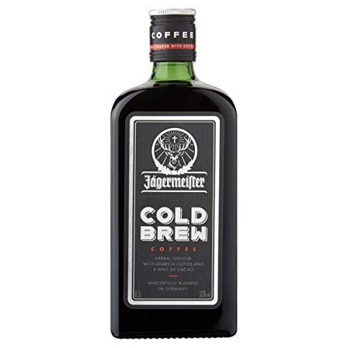 Jägermeister Cold Brew Coffee - Kräuterlikör mit arabica Kaffee - 0,5l 33% vol.