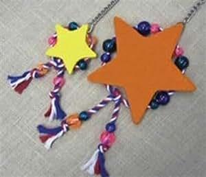 Jungle Forum 085-01007 Jungle Forum SuperStar Kleine Holz Vogel Spielzeug sortierte Farben