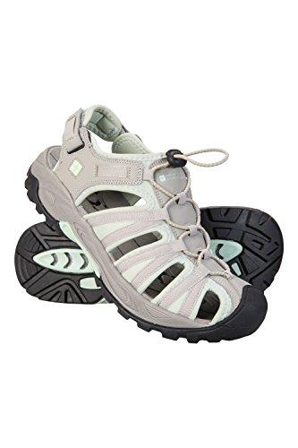 9f46fda57d98b6 Mountain Warehouse Seaside Sandalen für Damen mit Abfluss - Leichte  Sommersandalen
