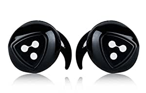 Syllable D900Headphone sans fil Bluetooth 4.0casque Sports with Charging Stand For Android/IOS/iPad/Tablette Noir
