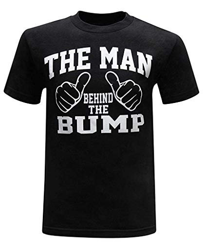 Lustige Tee-small Black T-shirt (Soft Die lustigen Neuheits-Männer heiß!Mode Frühjahr Sommer Männer Druck Tees Shirt Kurzarm Men's t-Shirt Bluse Schwarz Tees Tops Comfortable (Color : Black, Size : S))