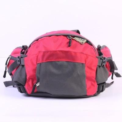 &ZHOU uomini e donne multi-funzionale borsa sportiva zaino borsa borsa a tracolla grande capacità zaino borsa Messenger della moda Messenger , rose red rose red