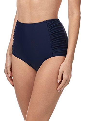 Merry Style Bragas de Bikini Parte de Abajo Bañador Corte Alto Mujer MS10-119 Azul Oscuro2 6007...