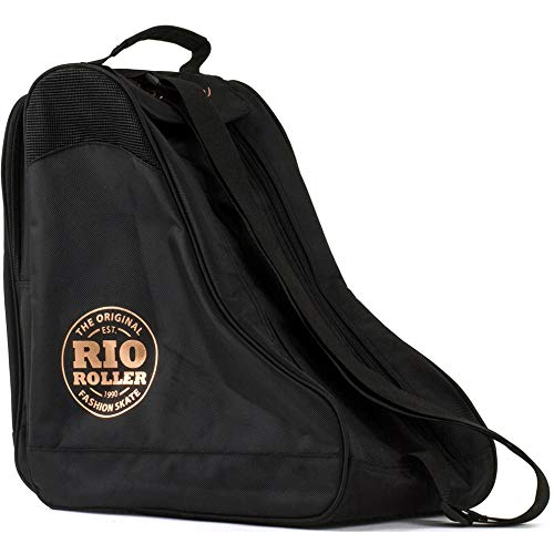 Rio Roller Rose Skate Bag Rollschuhtasche schwarz-Gold schwarz-Gold, Standard -