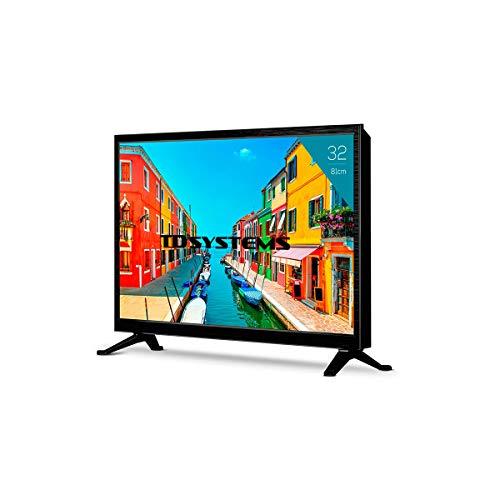 Televisor Led 32 Pulgadas HD, TD Systems K32DLM3H. Resolución 1366 x 768, 3X HDMI, VGA, USB Reproductor y Grabador.