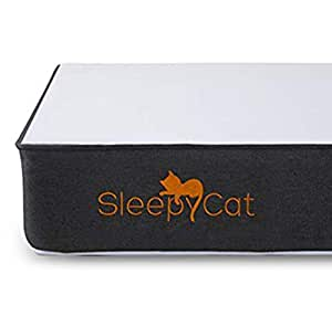 SleepyCat 6 Inch Orthopedic Memory Foam Queen Size Mattress (78x60x6 Inches, Gel Memory Foam)