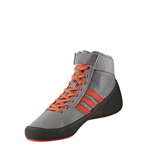 Adidas HVC 2 Wrestling Chaussures - - Grey/Solar Red/Grey,