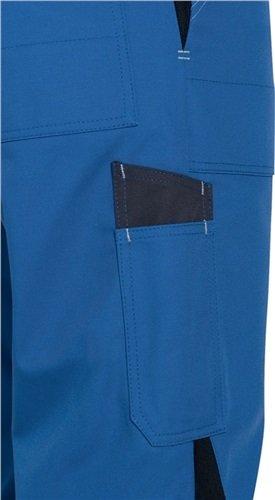 Uvex Perfect 8925 Herren-Arbeitshose - Blaue Männer-Latzhose 52/54