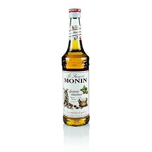 Monin geröstete Haselnuss Sirup I Aromen von Nuss und Karamell I perfekt im Kaffee, Milch oder...