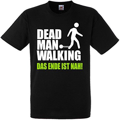 Herren T-Shirt für den Junggesellenabschied mit Motiv Dead -