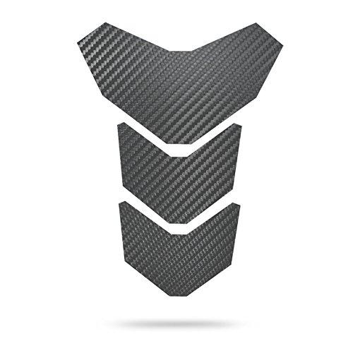 """Motoking Tankpad """"CARBON MANTIS"""" Tankaufkleber, Tankschutz, Lackschutz, Aufkleber Pad für Motorrad Tank - in 3 Farben erhältlich - ANTHRAZIT"""