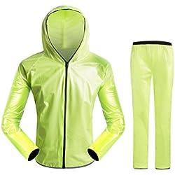 Traje Impermeable pantalón y chaqueta multi color