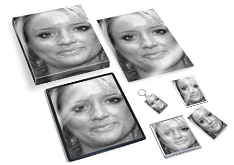 LUCY DAVIS - Original Art Gift Set #js001 (Includes - A4 Canvas - A4 Print - Coaster - Fridge Magnet - Keyring - Mouse Mat - Sketch