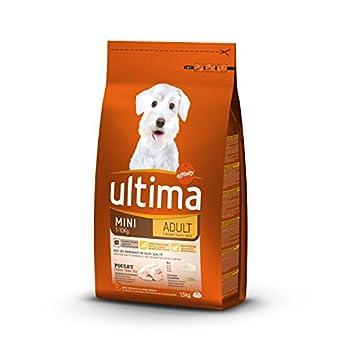 Ultima Croquettes pour Chien Mini (1-10 kg) Adulte Riche en Poulet et Riz 1,5 kg