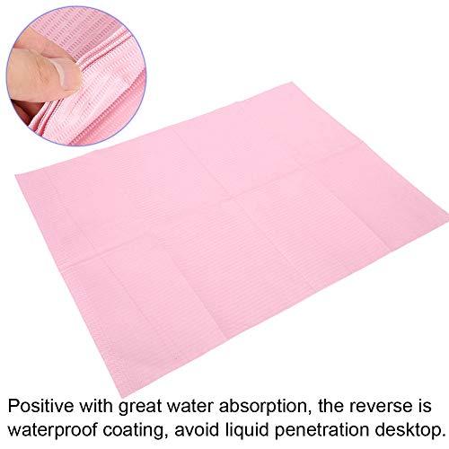 T Pad per carta patinata per unghie, strumento per manicure con pratica di tappetini da tavolo impermeabile 125 pezzi