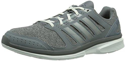 adidas epic elite m Herren Laufschuhe Grau (Tech Grey F12 / Tech Grey Met. S14 / Running White)
