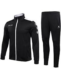 KELME Camiseta de Sportwear Jogging Chándal Ejercicio Casual, Negro, X-Large