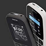 Nokia 105 Single SIM Mobile Phone (2017 Edition) - Black