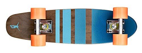 Ridge Erwachsene Maple Holz Mini Cruiser Number Three Skateboard Orange