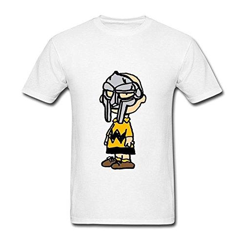 T-Shirt Foxgax Men's Charlie Brown MF DOOM T shirts