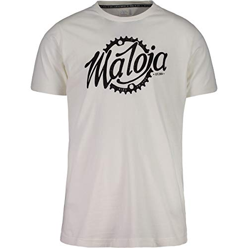 Maloja Herren 27506 T-Shirt, Transparent Logo 8280, Large