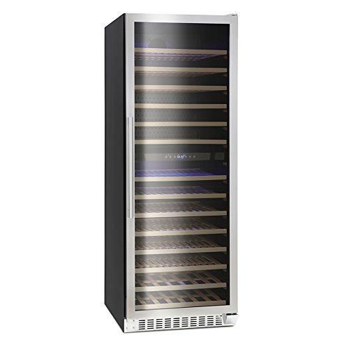 41wo3CZmWTL. SS500  - Montpellier WS181SDX Dual Zone 181 Bottle Wine Cooler