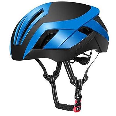 YRDGP Mountain Bike Helmet 3 In 1 Road Cycle Helmets Men'S Safety Helmet Integrally Molded Pneumatic Cycling Helmets,A by YRDGP L