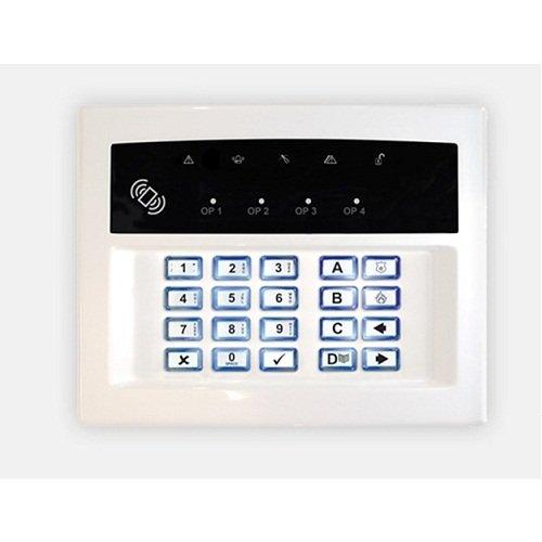 py35–PYRONIX ledrkp/white-we Zweiwege-Wireless scharfschalten Tastatur Station W/integriertem...
