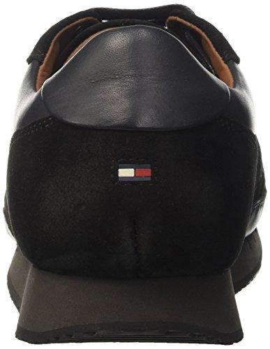 Tommy Hilfiger Herren M2285ac 2 Low-Top Mehrfarbig (BLACK/MAGNET 903)