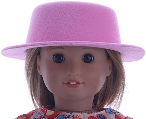 Accessoires drôles de de de poupées Bonnet de mode  ly Girl Doll de 18 po (rose pâle) B07MPTNZS9 216ce4