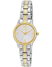 Citizen Damen-Armbanduhr Analog Quarz Edelstahl beschichtet EX0294-58H